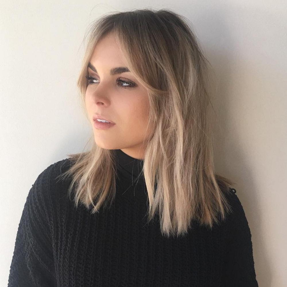 2018 Cute Shaggy Medium Haircuts For 61 Chic Medium Shag Haircuts For  (View 1 of 20)