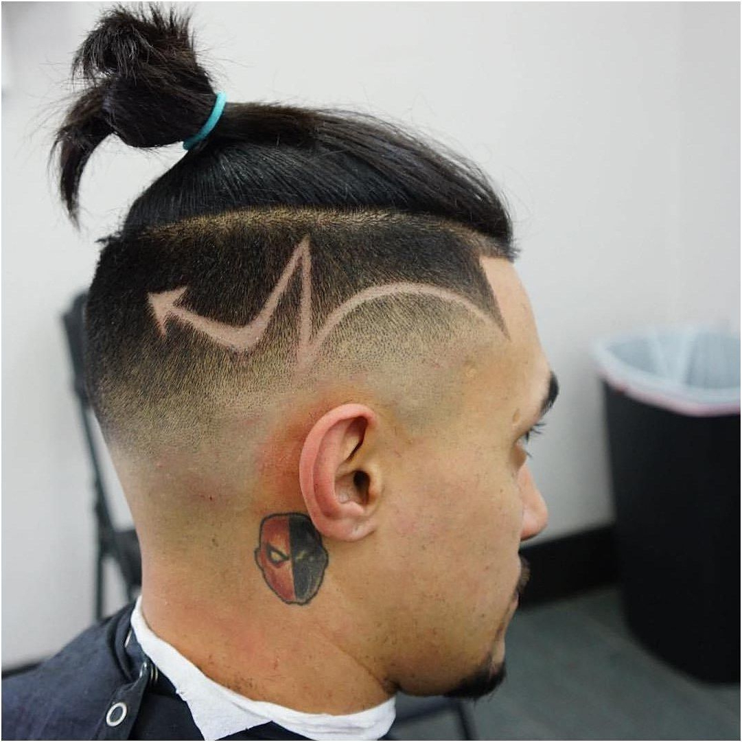 2018 High Mohawk Hairstyles With Side Undercut And Shaved Design Pertaining To Mens Hair, Haircuts, Fade Haircuts, Short, Medium, Long, Buzzed (View 2 of 20)