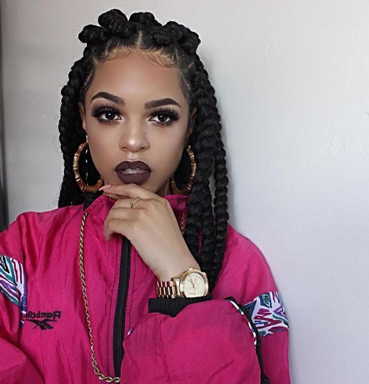 2018 Layered Medium Haircuts For Black Women Regarding Short, Medium And Long Hair Ideas & Hairstyles For Black Women  (View 1 of 20)