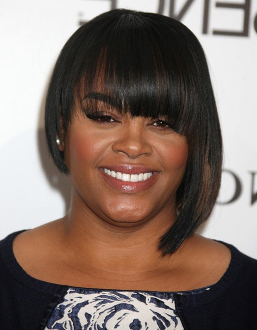 2018 Medium Haircuts For Black Women With Round Faces Regarding Best African American Bob Hairstyles Luxury Medium Haircuts For (View 1 of 20)