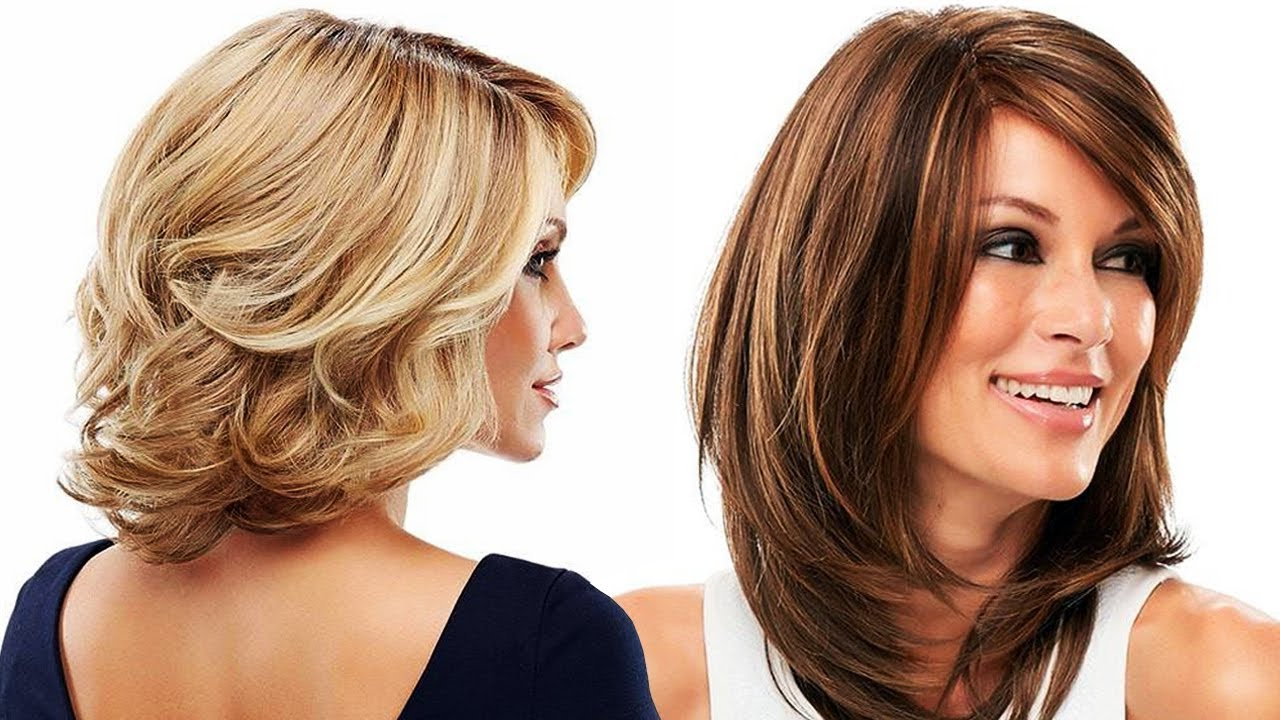 Photo Gallery Of Medium Haircuts For Older Ladies Viewing