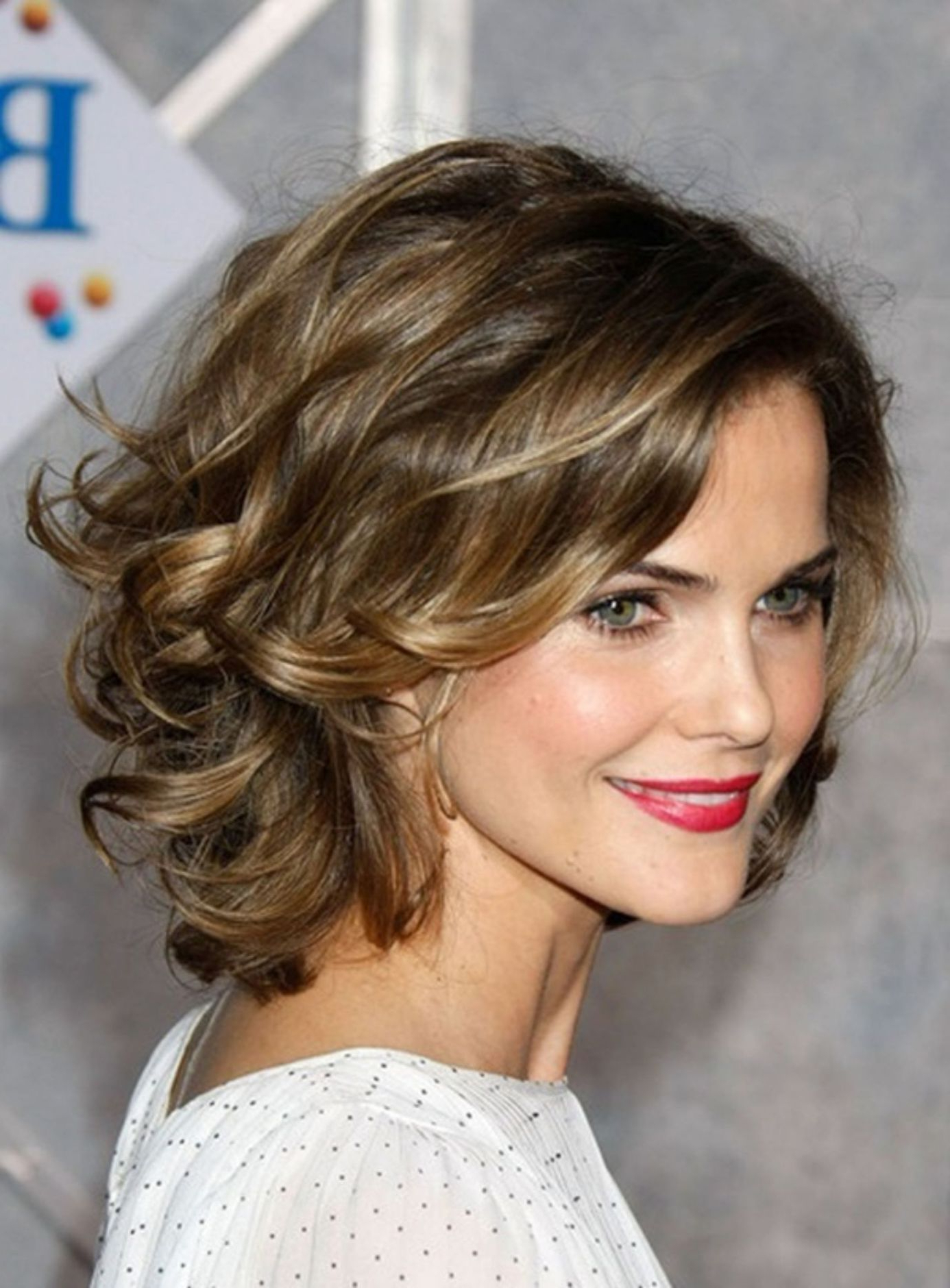 2018 Medium Hairstyles For Thin Curly Hair With 70 Darn Cool Medium Length Hairstyles For Thin Hair (Gallery 7 of 20)