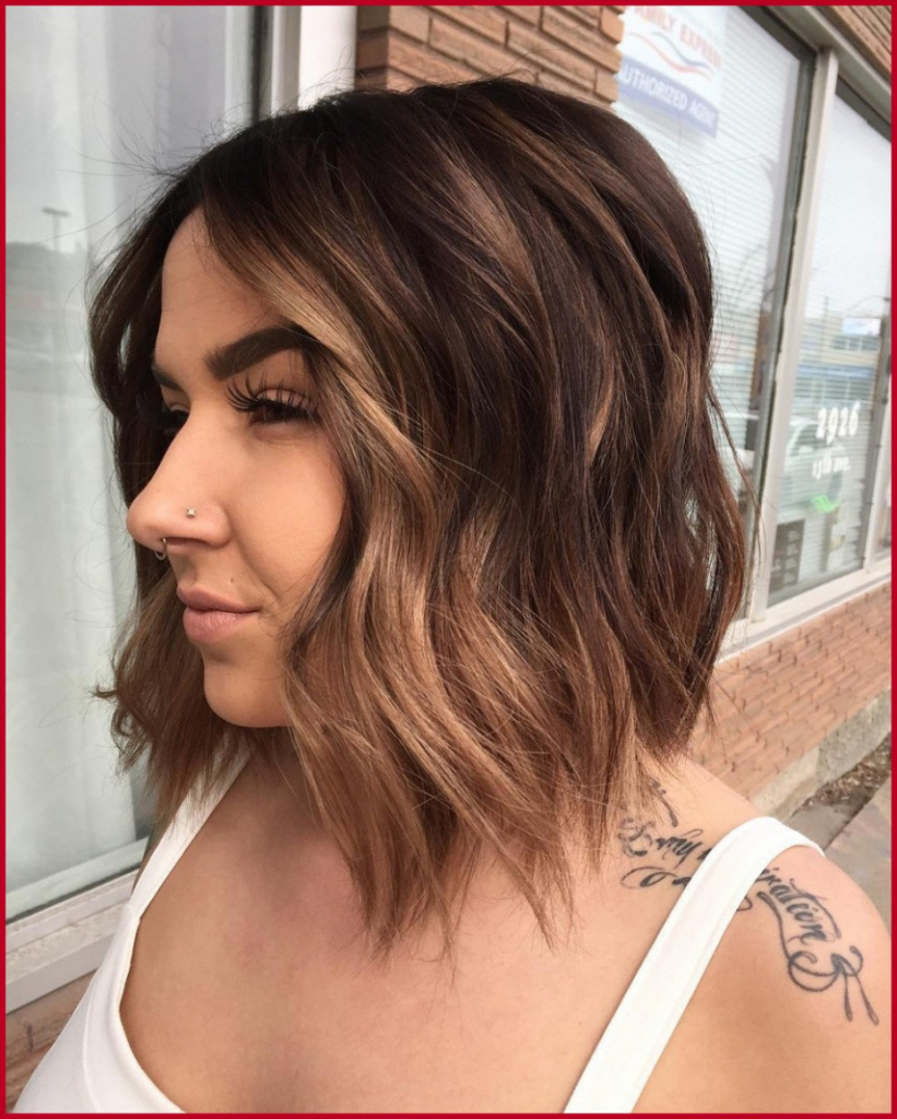 2018 Medium Hairstyles With Red Highlights For Fresh Gallery Of Medium Hairstyles With Red Highlights – Panmaneee + (View 4 of 20)