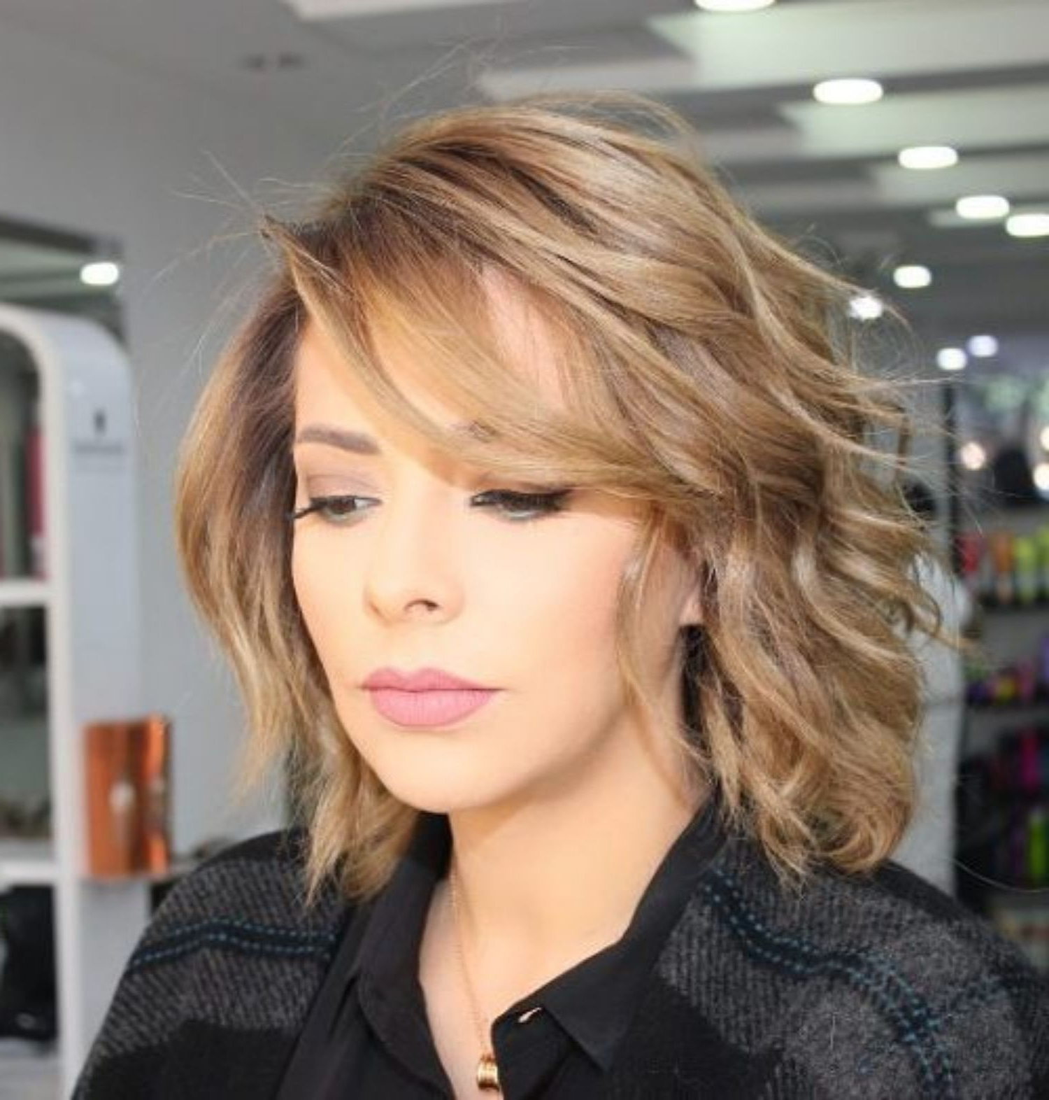 2018 Wispy Medium Haircuts With 70 Brightest Medium Layered Haircuts To Light You Up In (View 3 of 20)