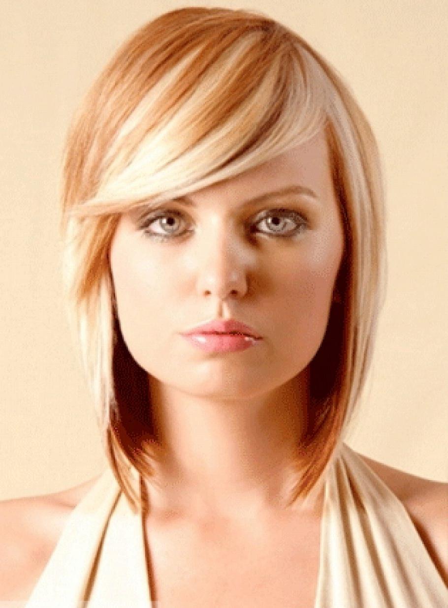 2019 Bang Hairstyles For Medium Hair (View 6 of 20)