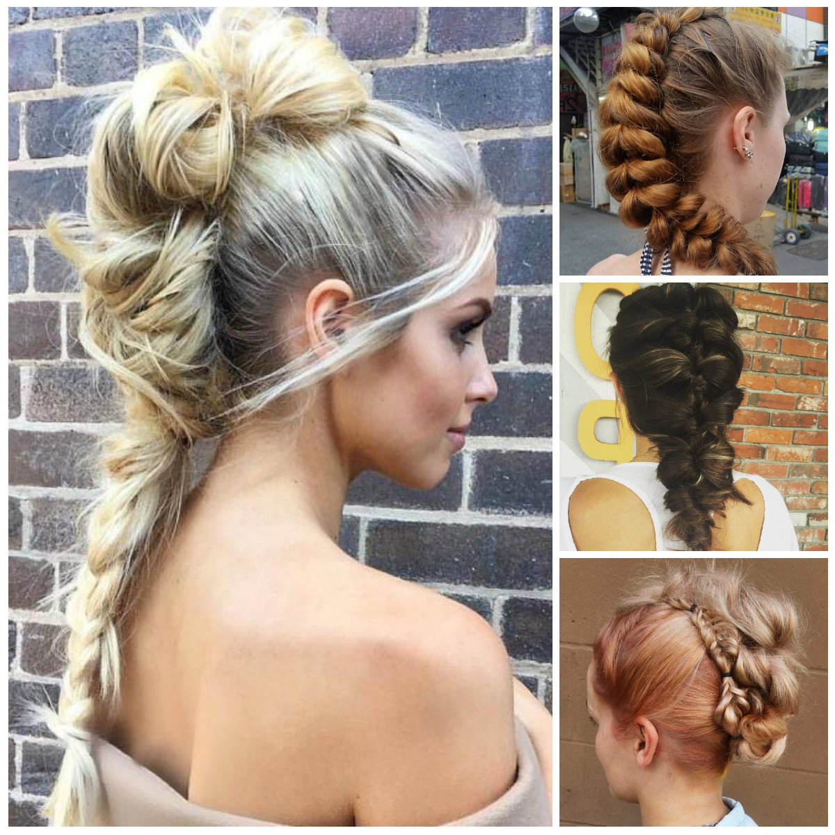 2019 Braided Mohawk Hairstyles – Haircuts And Hairstyles For 2019 Intended For Well Known Cool Mohawk Updo Hairstyles (View 2 of 20)