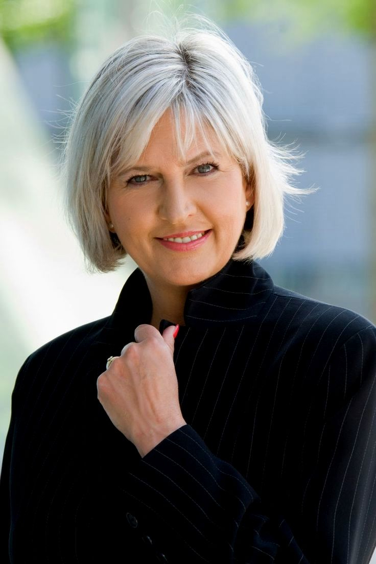 2019 Short Haircuts For Women Over 50 – Haircuts And Hairstyles For Intended For Favorite Medium Haircuts For Gray Hair (View 6 of 20)