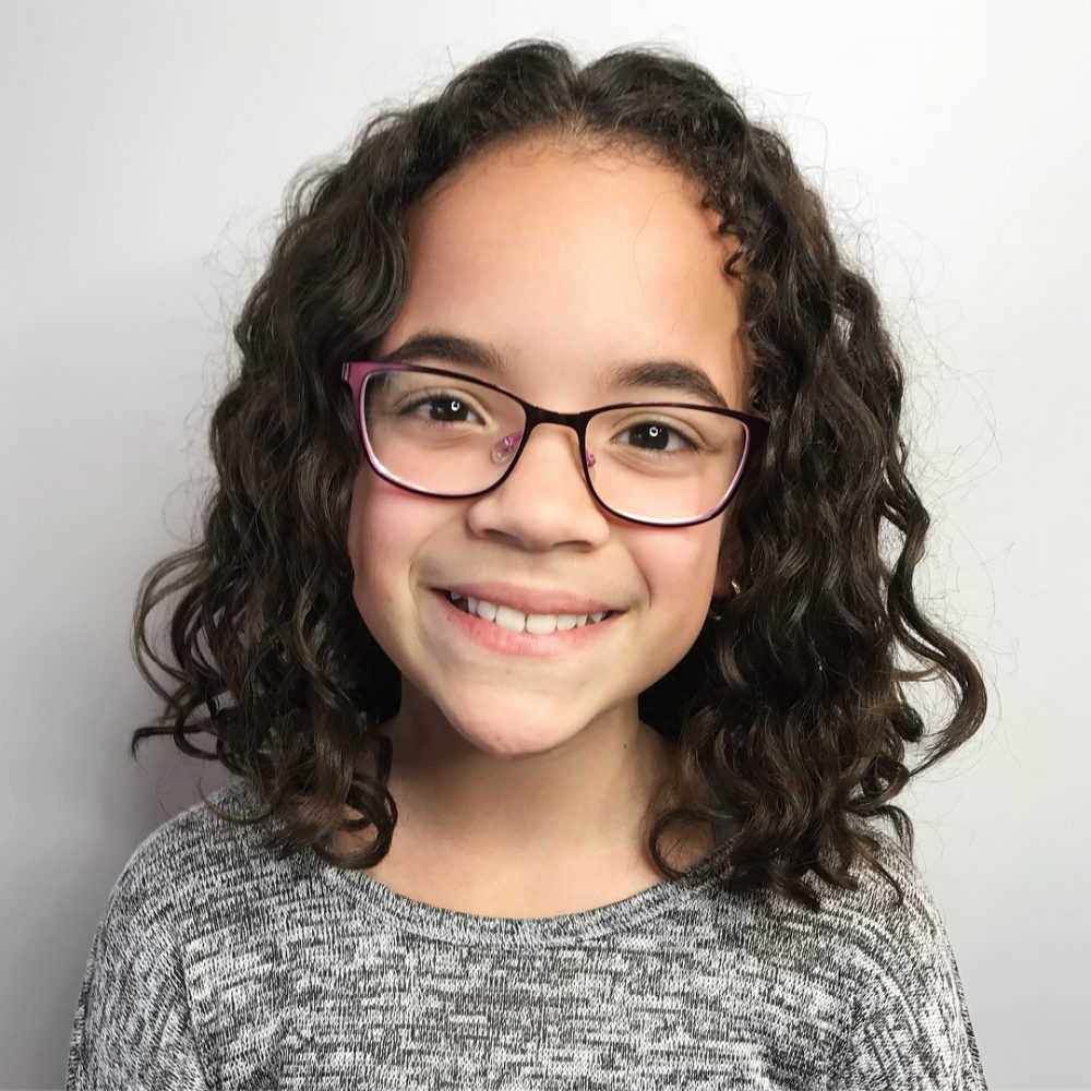 21 Easy Hairstyles For Girls With Curly Hair – Little Girls Regarding Well Known Medium Hairstyles For Girls With Glasses (View 17 of 20)