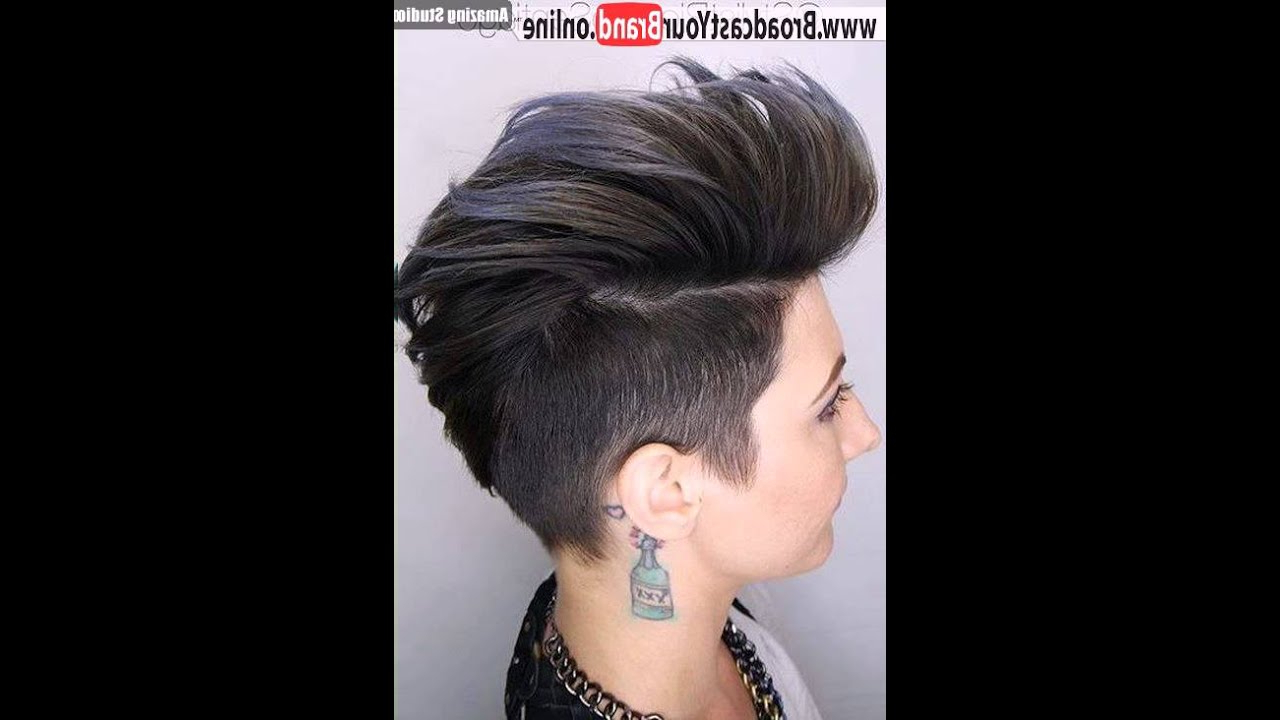 22 Rugged Faux Hawk Hairstyle You Should Try Right Away! Within Fashionable Sweet Tart Peaked Faux Hawk Hairstyles (View 4 of 20)