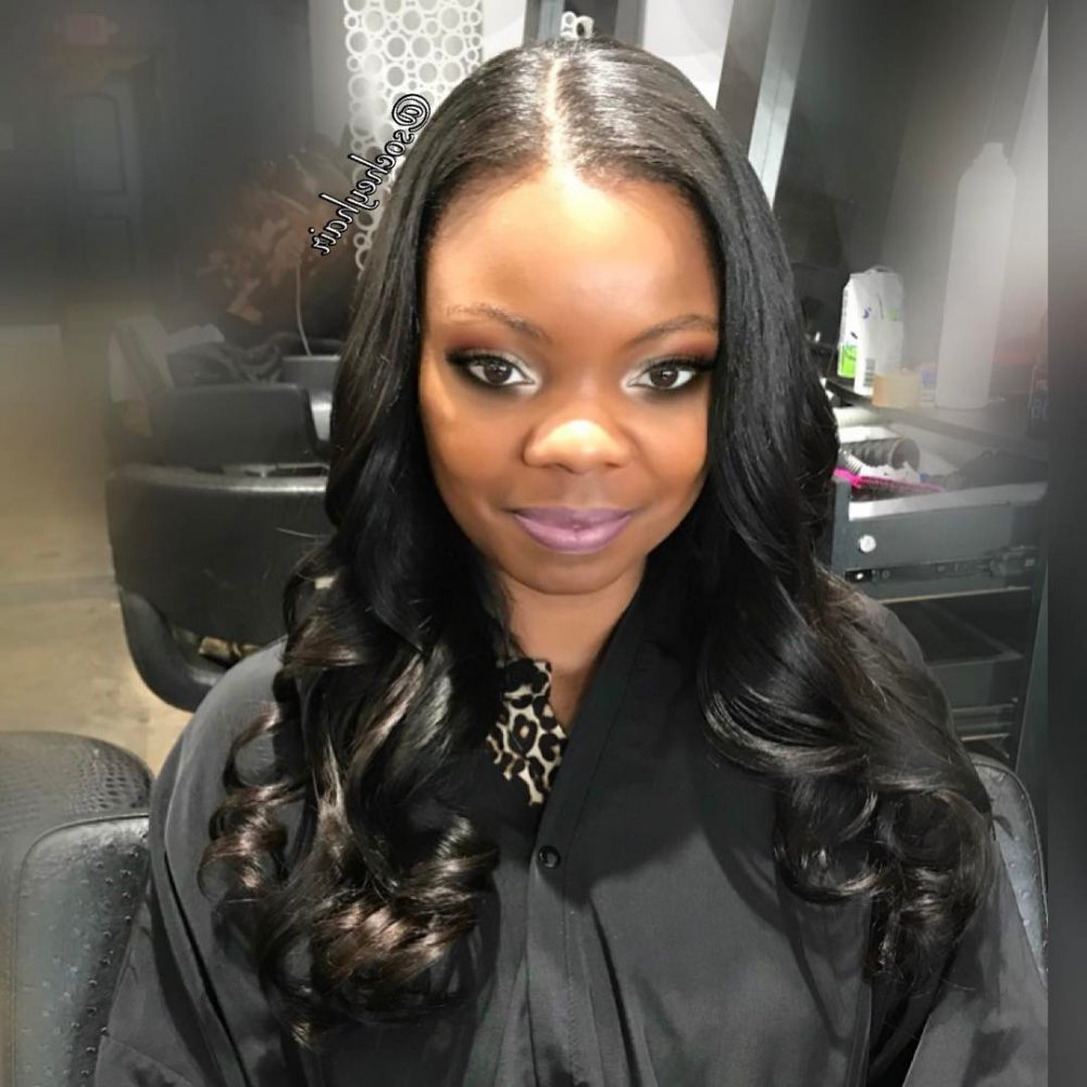 23 Amazing Prom Hairstyles For Black Girls And Young Women Inside Widely Used Soft Medium Hairstyles For Black Women (View 4 of 20)