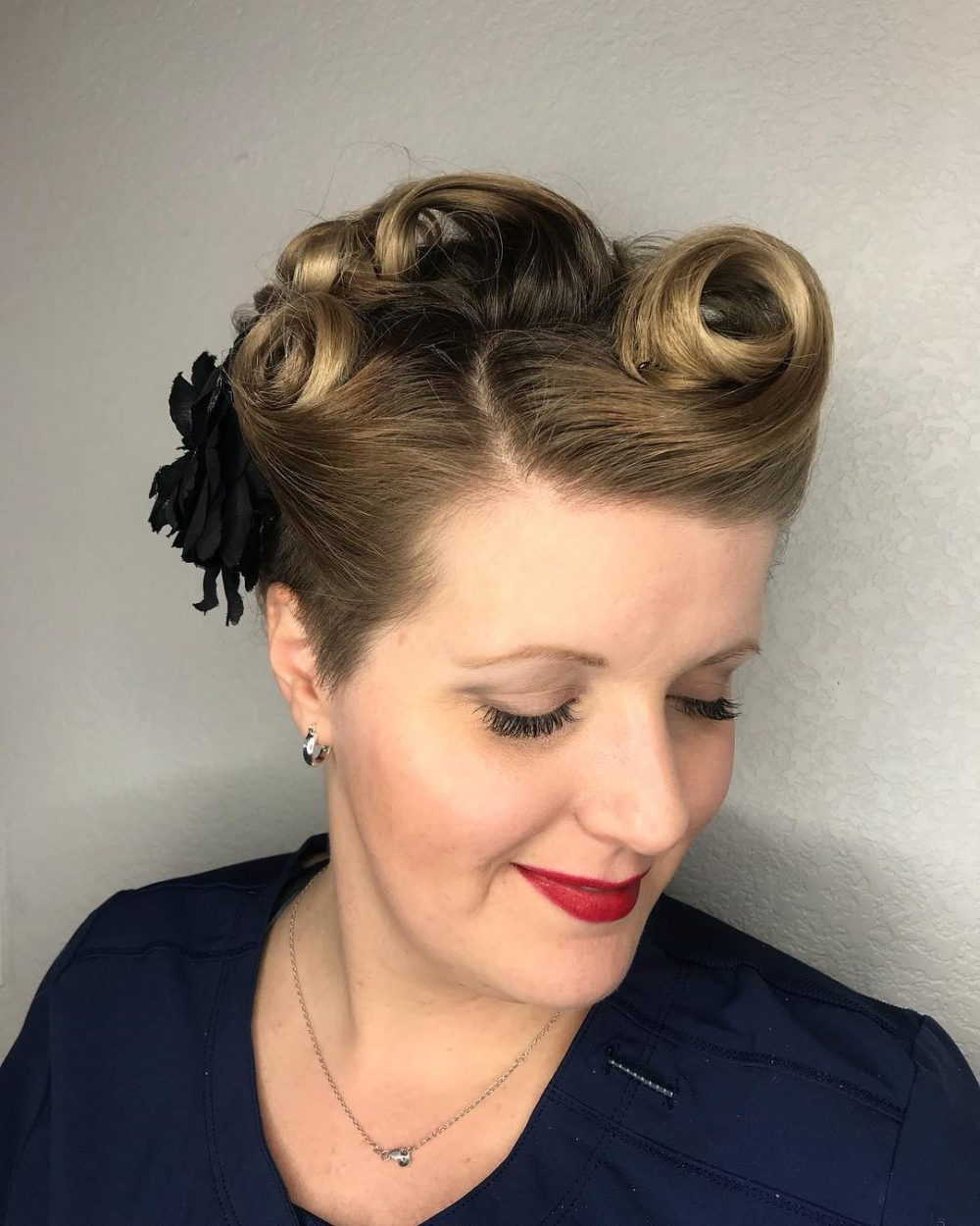 24 Cutest Updos For Short Hair Of 2019 Within Most Up To Date Medium Hairstyles For Special Occasions (View 7 of 20)