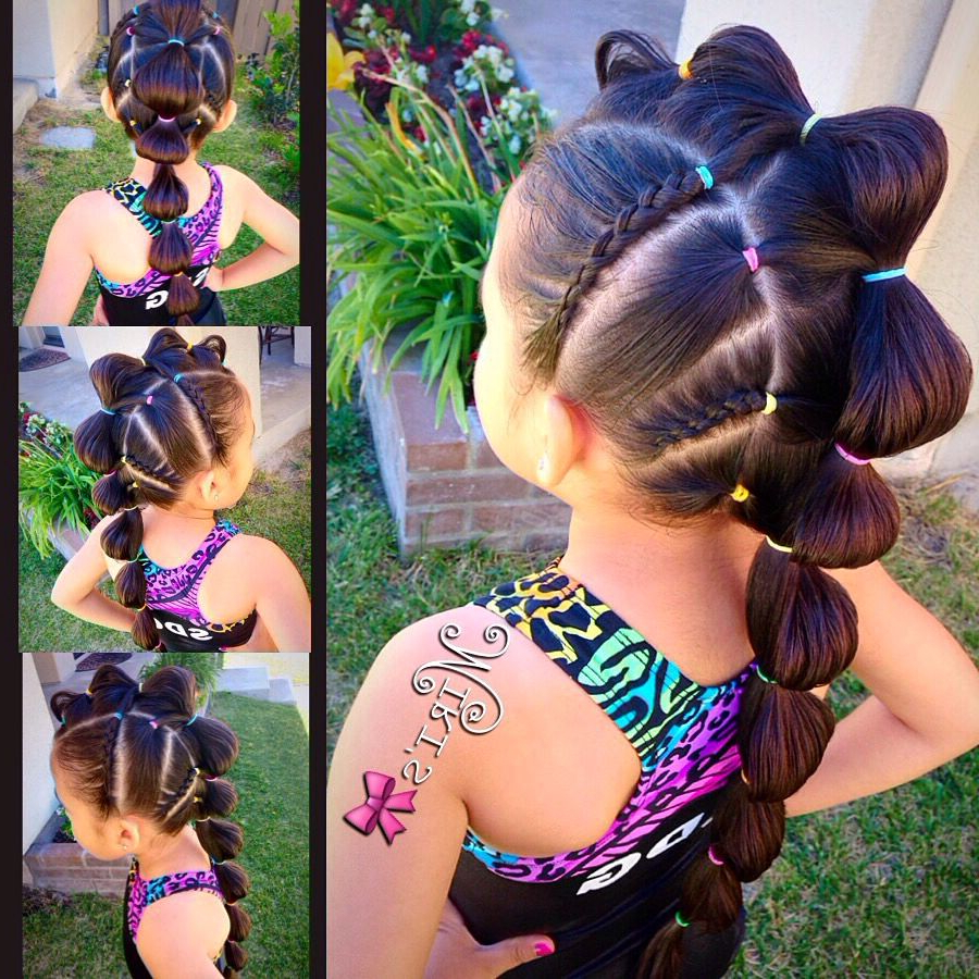 25 Awesome Hairstyles For Little Girls Making Them Look Absolutely Intended For Trendy Braided Tower Mohawk Hairstyles (View 1 of 20)