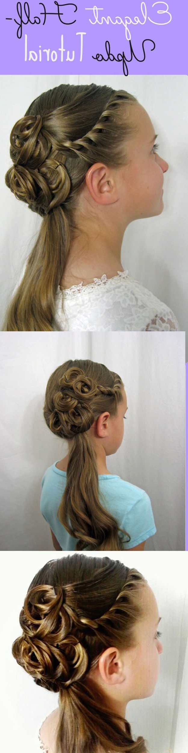 25 Easy Half Up Half Down Hairstyle Tutorials For Prom – The Goddess Inside Best And Newest Half Short Half Medium Hairstyles (View 1 of 20)
