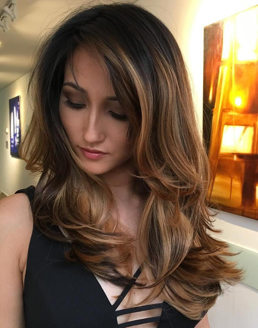 25 Perfect Examples Of Hairstyles For Thick Hair – Haircuts Regarding Fashionable Mid Length Two Tier Haircuts For Thick Hair (View 5 of 20)