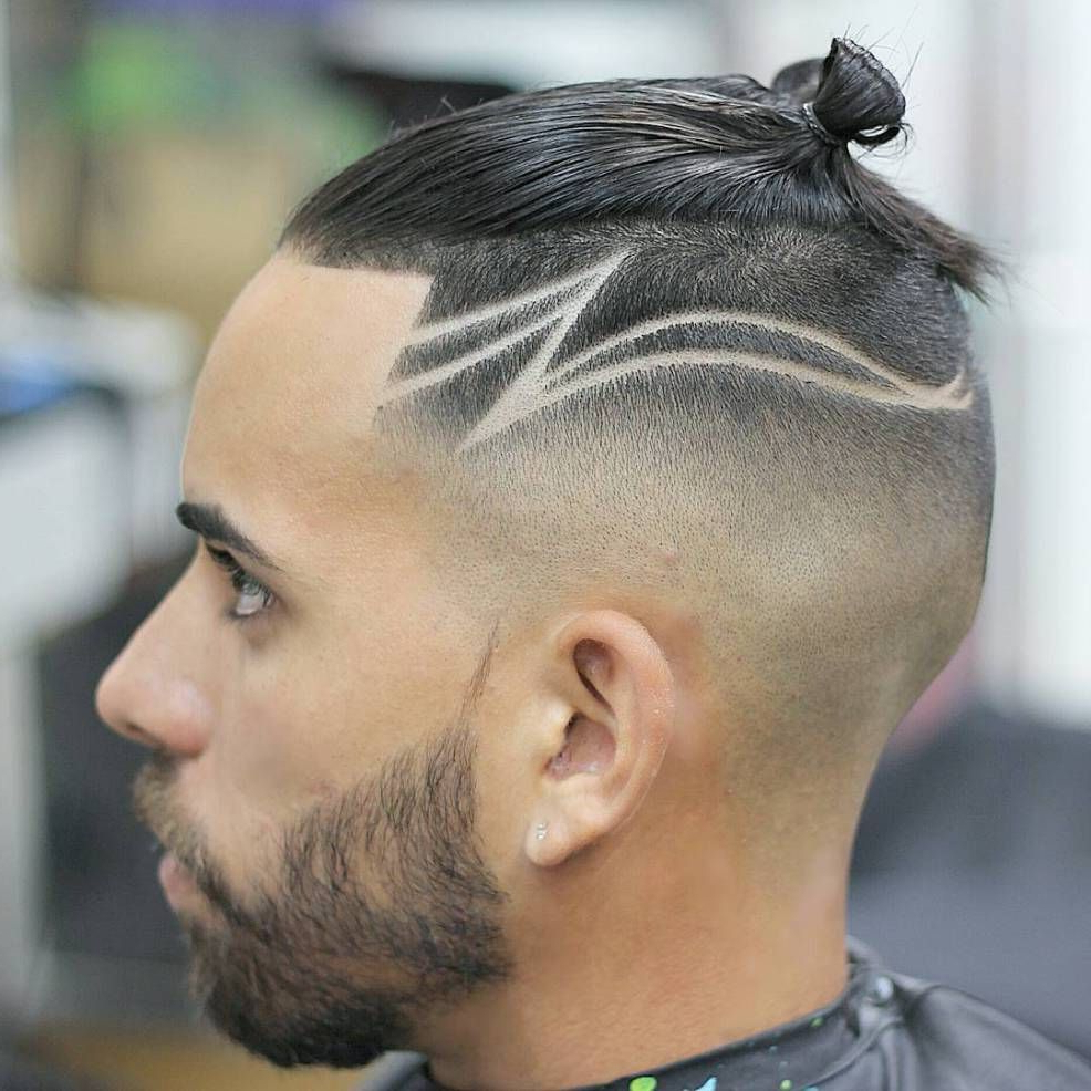 Photo Gallery Of High Mohawk Hairstyles With Side Undercut And