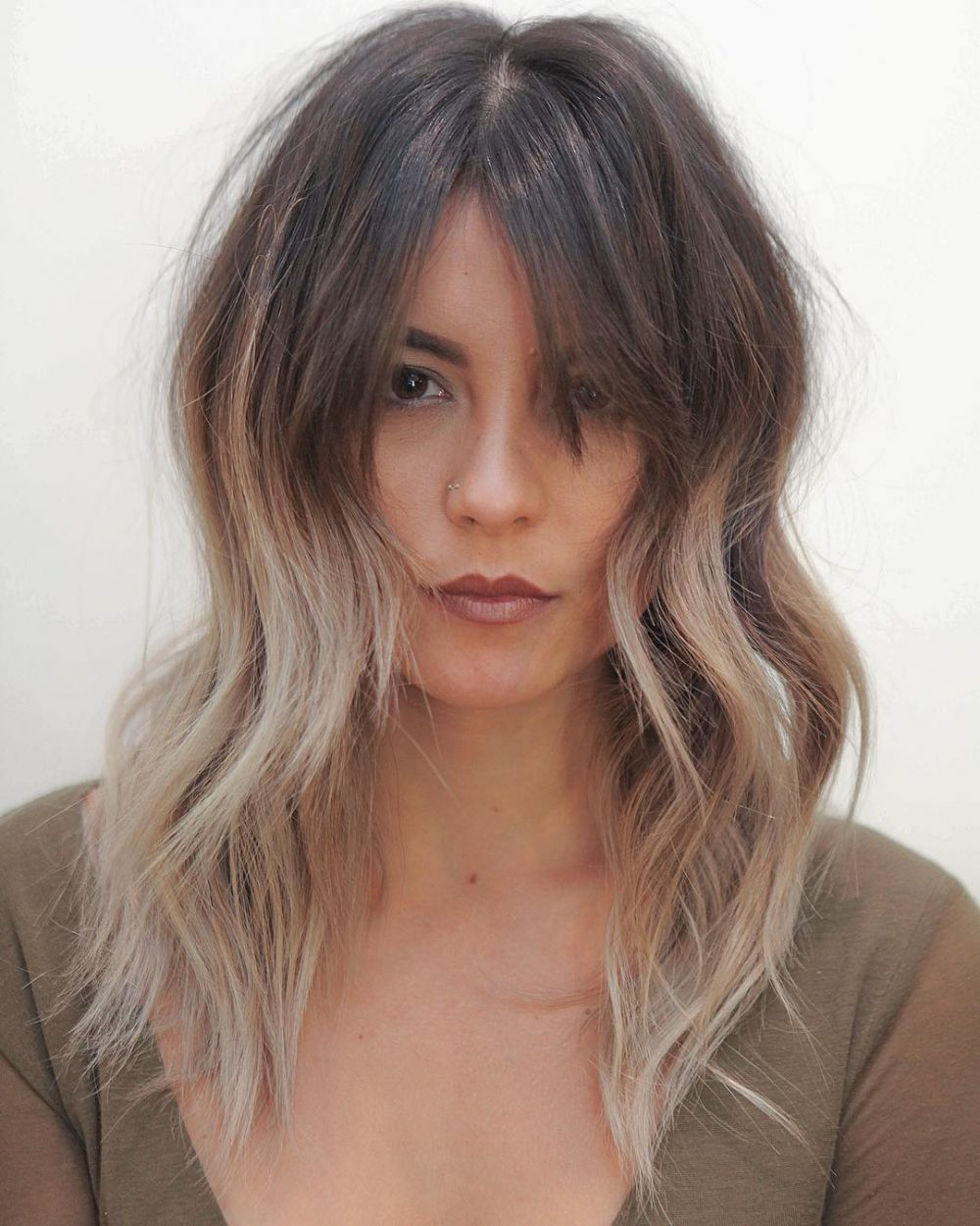 28 Cute Hairstyles For Medium Length Hair (Popular For 2019) For Trendy Cute Medium Hairstyles With Bangs (View 2 of 20)