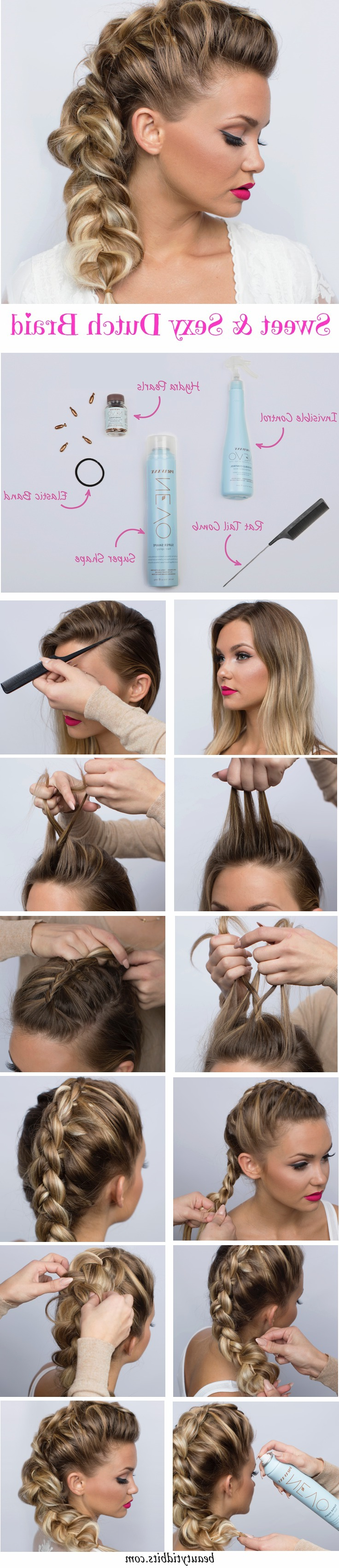 28 Trendy Faux Hawk Hairstyles For Women 2019 – Pretty Designs With Regard To Most Recently Released Messy Braided Faux Hawk Hairstyles (View 6 of 20)