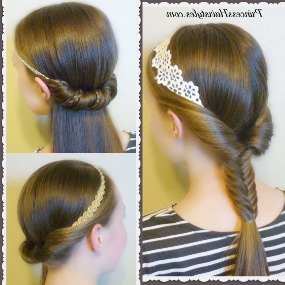3 Quick And Easy Hairstyles For School Using Headbands (View 9 of 20)