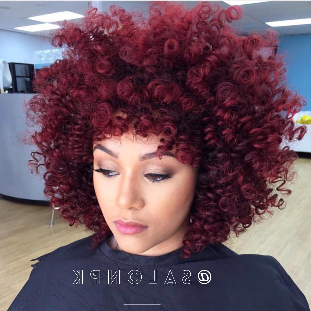 30 Best African American Hairstyles 2018 – Hottest Hair Ideas For With Newest Red And Black Medium Hairstyles (View 16 of 20)