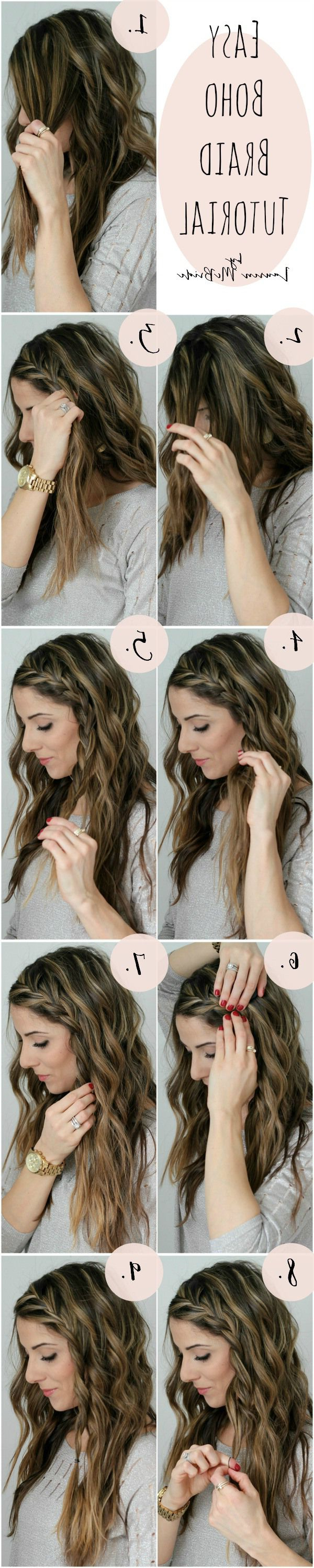 30 Boho Chic Hairstyles For 2019 – Pretty Designs Intended For Latest Boho Medium Hairstyles (Gallery 17 of 20)