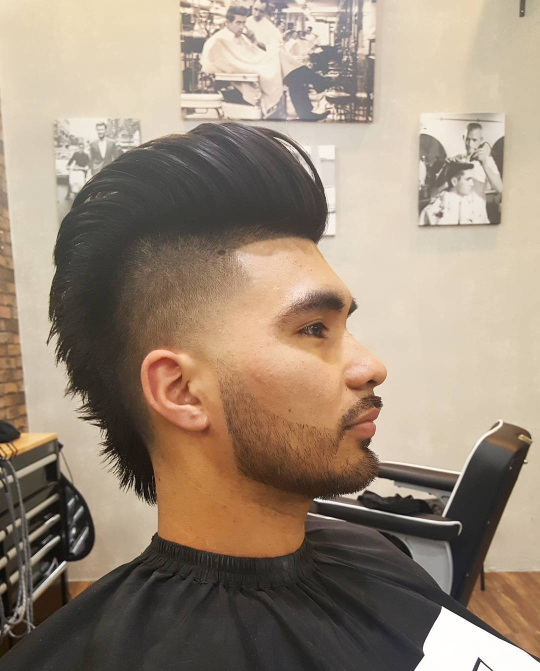 30 Draw Attention With Funky Faux Hawk Hairstyles Inside Popular The Faux Hawk Mohawk Hairstyles (View 7 of 20)
