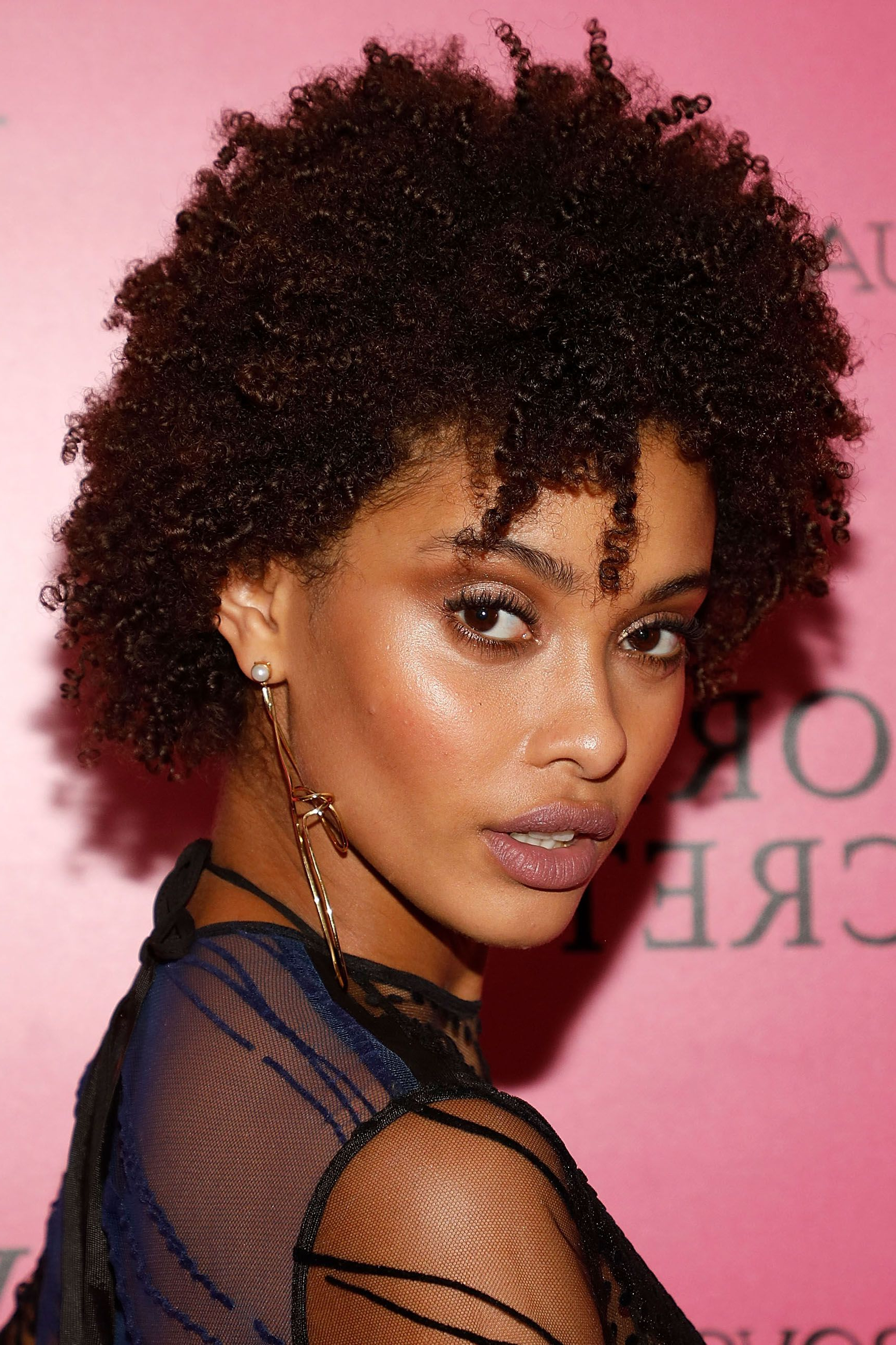 30 Easy Natural Hairstyles For Black Women – Short, Medium & Long Within Most Current Medium Haircuts For Kinky Hair (Gallery 12 of 20)