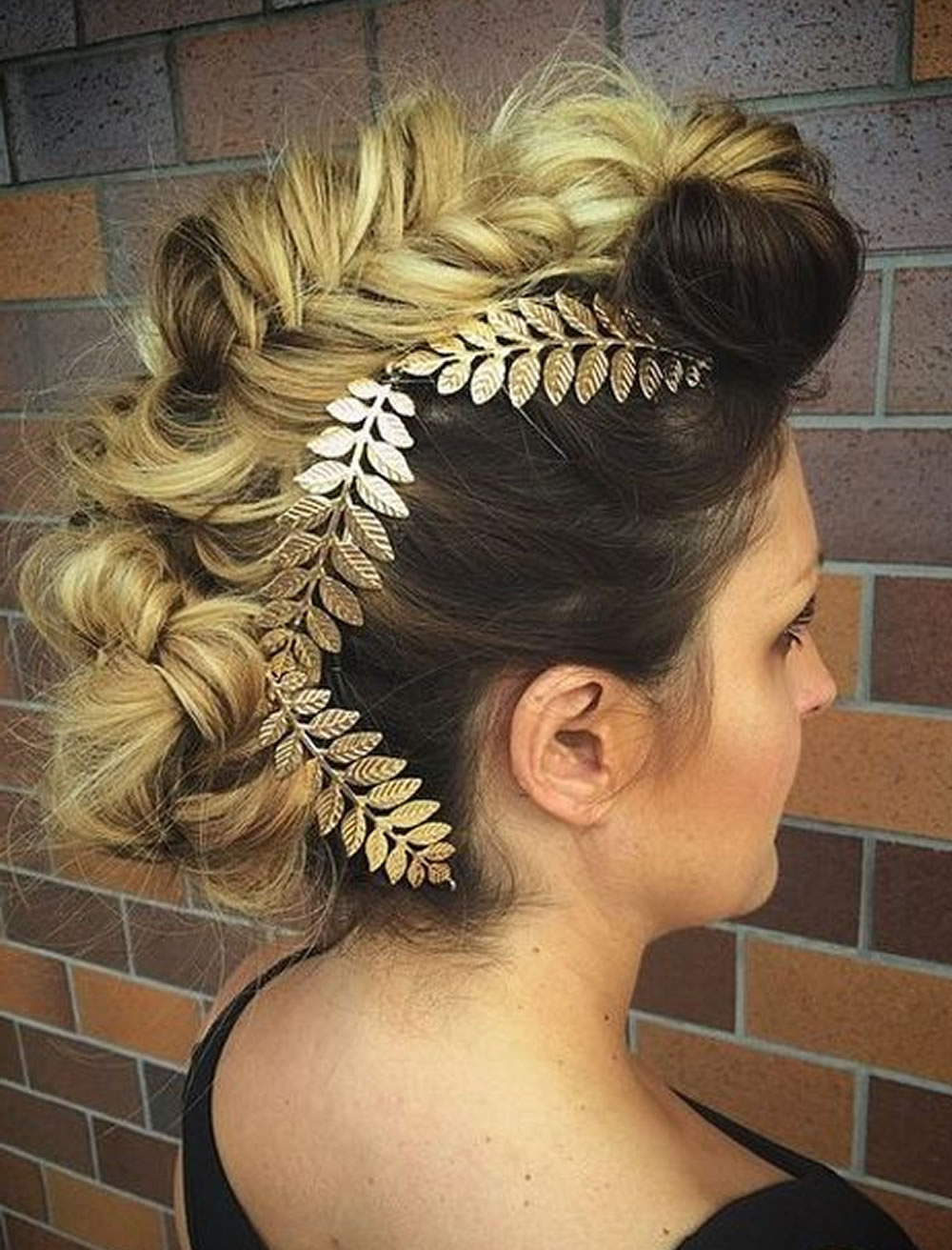 30 Glamorous Braided Mohawk Hairstyles For Girls And Women – Page 3 Pertaining To Current Glamorous Mohawk Updo Hairstyles (View 2 of 20)