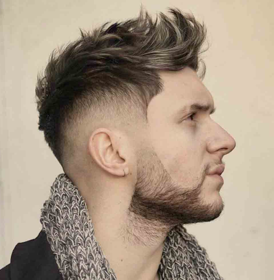 32 Elegant Curly Mohawk Hairstyles For Men 2019 : Men Hairstyles With Best And Newest Classy Wavy Mohawk Hairstyles (View 4 of 20)
