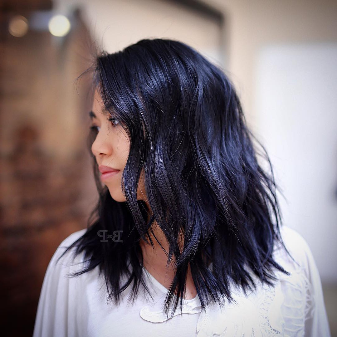 33 Stunning Hairstyles For Black Hair 2019 – Pretty Designs Intended For Well Liked Sexy Black Medium Hairstyles (View 5 of 20)