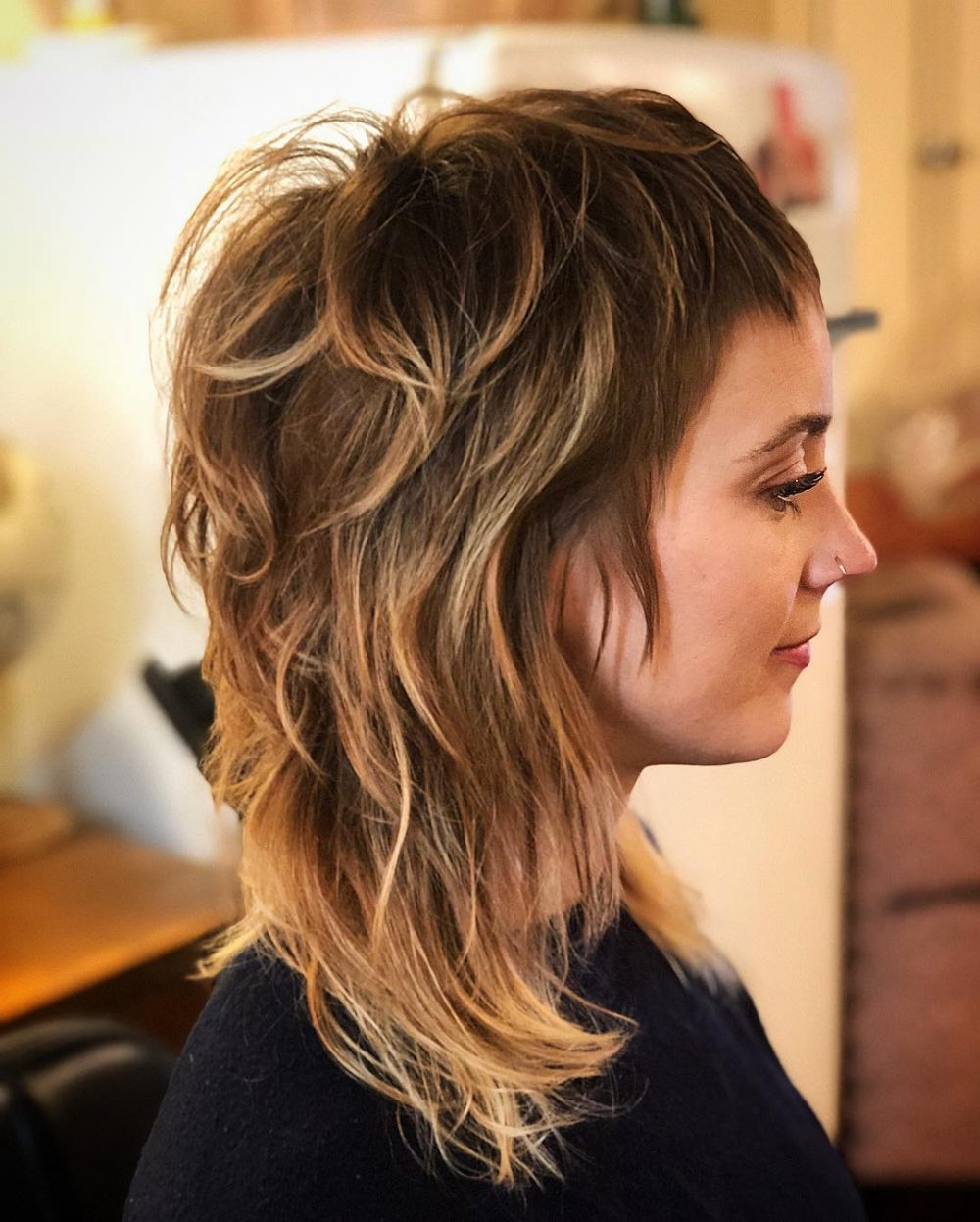34 Short Bangs That Are Totally Hot In 2019 For Preferred Short Bangs Medium Hairstyles (Gallery 15 of 20)