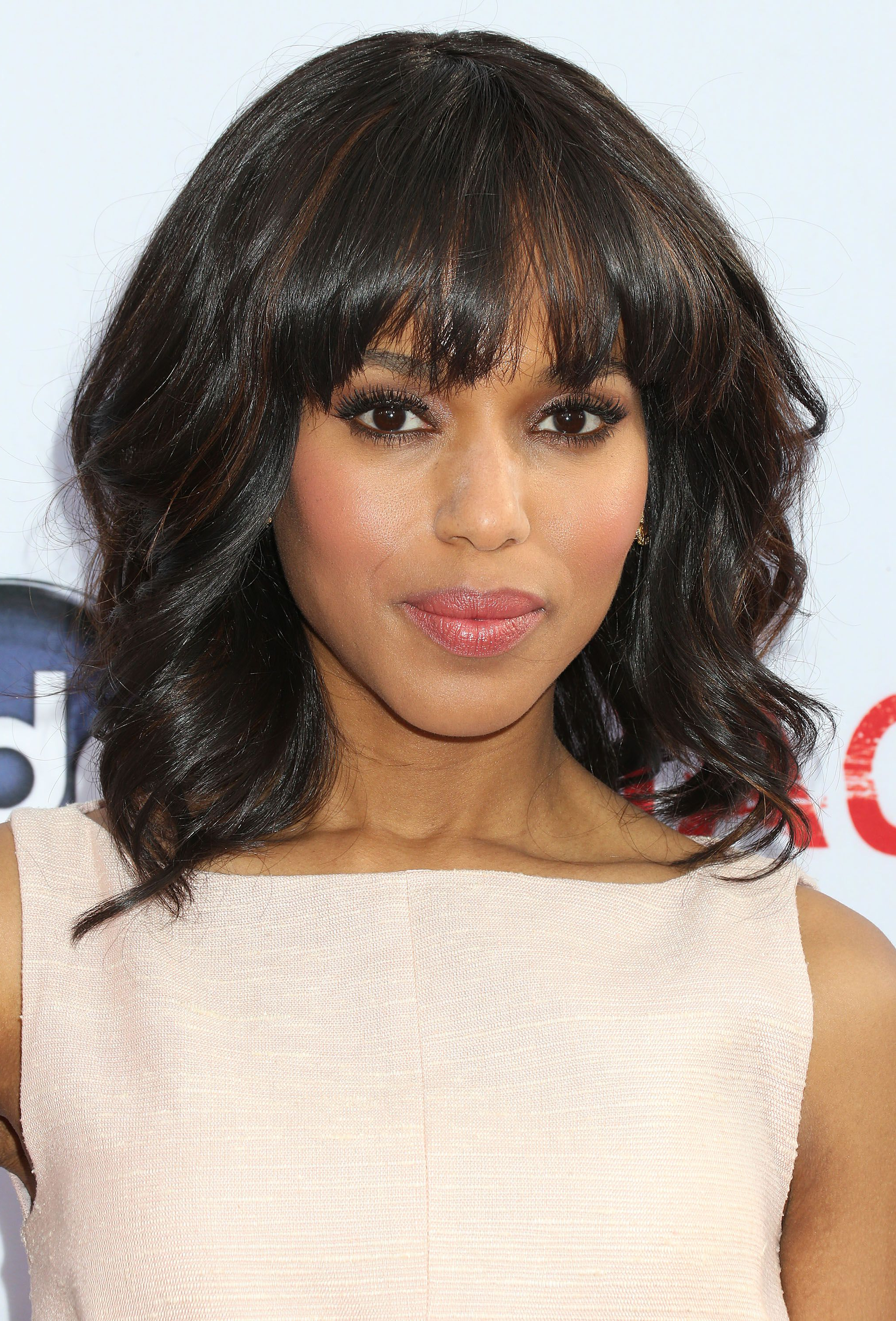35 Best Hairstyles With Bangs – Photos Of Celebrity Haircuts With Bangs Regarding Well Known Medium Haircuts With Layers And Side Swept Bangs (View 3 of 20)