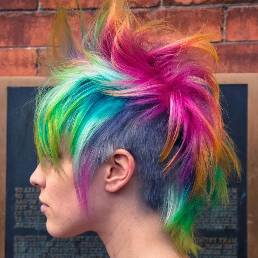 35 Short Punk Hairstyles To Rock Your Fantasy (View 3 of 20)