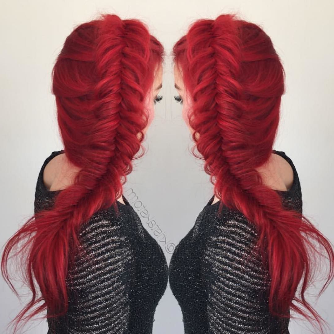 35 Stunning New Red Hairstyles & Haircut Ideas For 2019 – Redhead Ideas For Most Popular Bright Red Medium Hairstyles (Gallery 13 of 20)