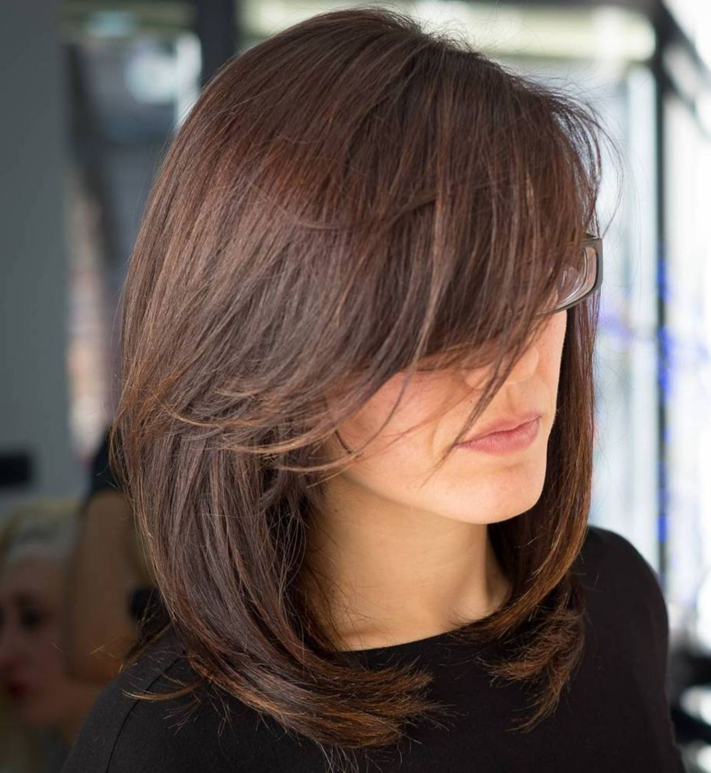 40 Side Swept Bangs To Sweep You Off Your Feet (View 4 of 20)