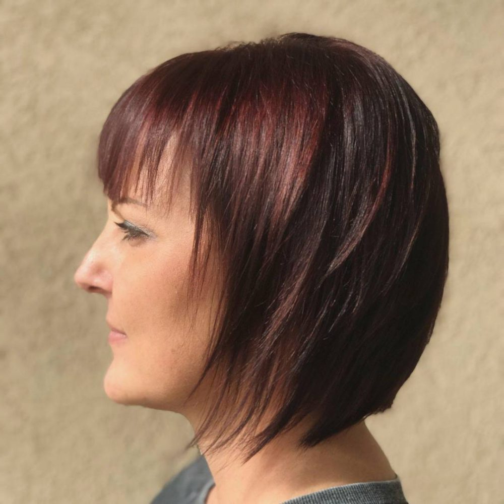 42 Sexiest Short Hairstyles For Women Over 40 In 2019 Within Well Known Medium Haircuts Over (View 13 of 20)