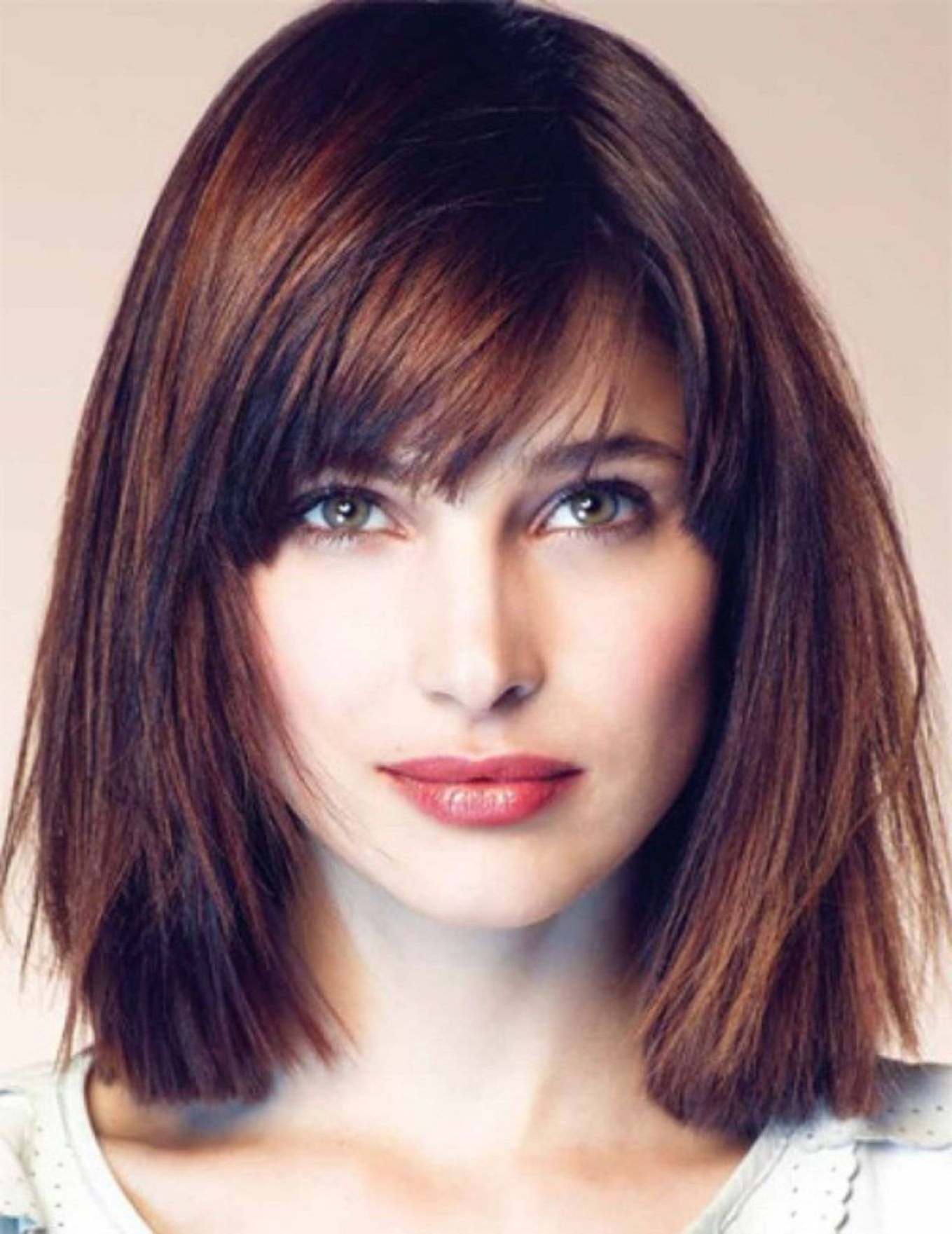 50 Best Hairstyles For Square Faces Rounding The Angles In 2018 Throughout Famous Medium Hairstyles For Square Faces With Bangs (View 8 of 20)