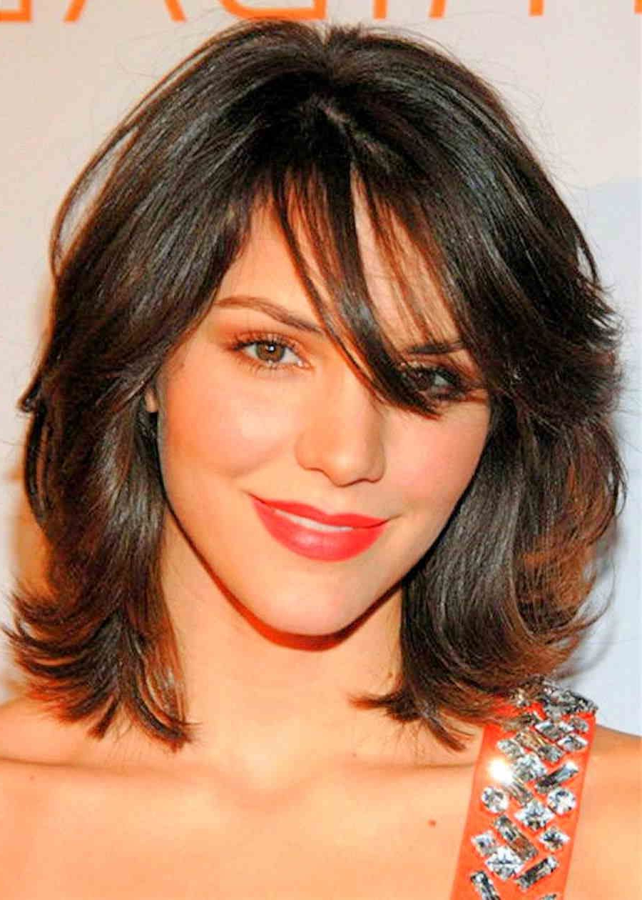 50 Hairstyles For Thin Hair – Best Haircuts For Thinning Hair Throughout Fashionable Best Medium Hairstyles With Bangs (Gallery 20 of 20)