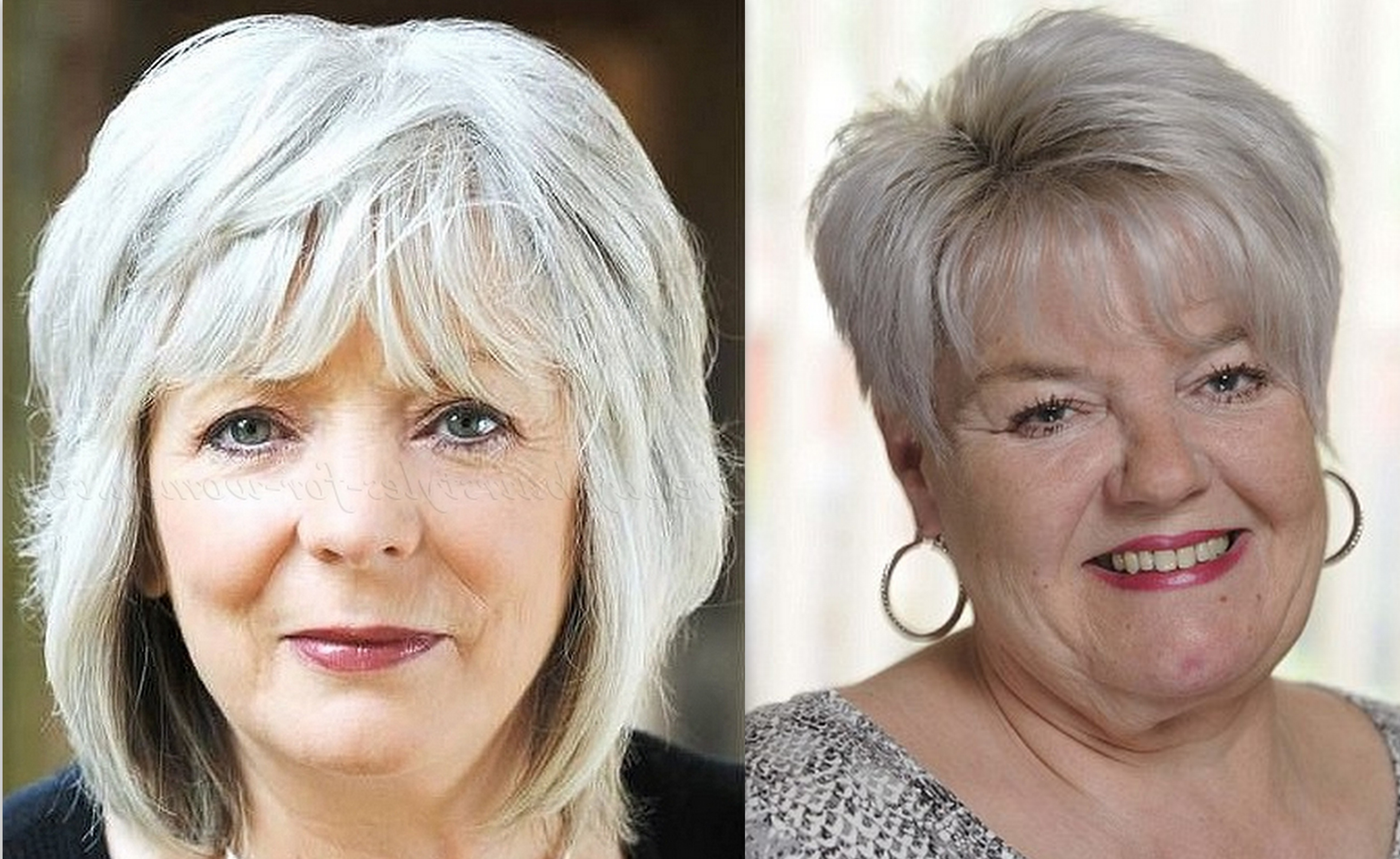 50 Latest Hairstyles For Over 60 With Round Face 2019 – Plus Size For Well Liked Medium Hairstyles For Obese Faces (Gallery 11 of 20)
