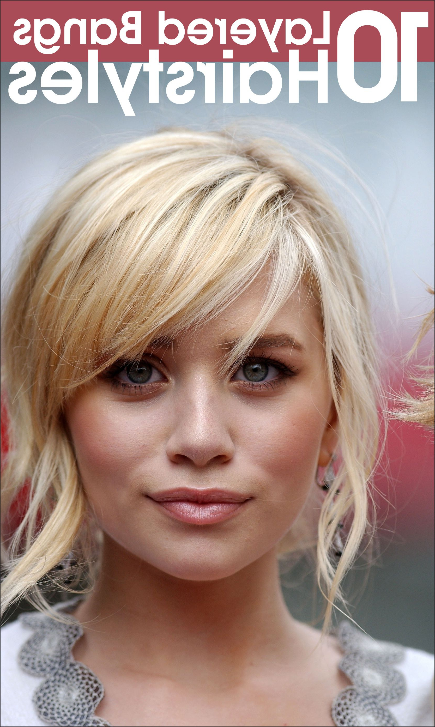 50 Layered Hairstyles With Bangs (View 5 of 20)
