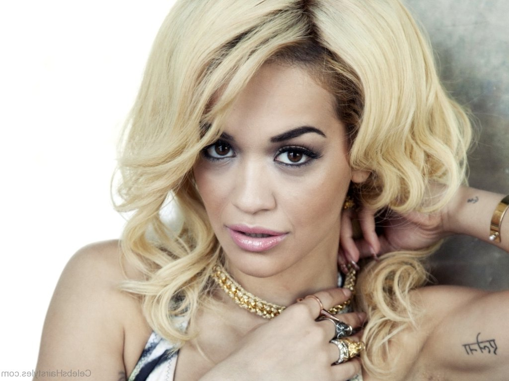 59 Best Haircuts Of Rita Ora Within Well Known Rita Ora Medium Hairstyles (Gallery 4 of 20)