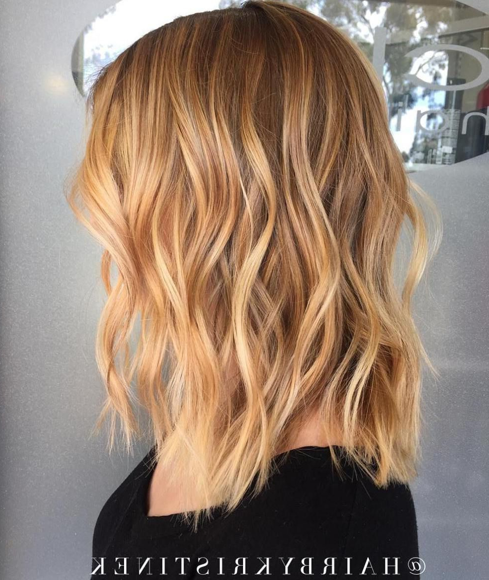 Featured Photo of Strawberry Blonde Medium Haircuts