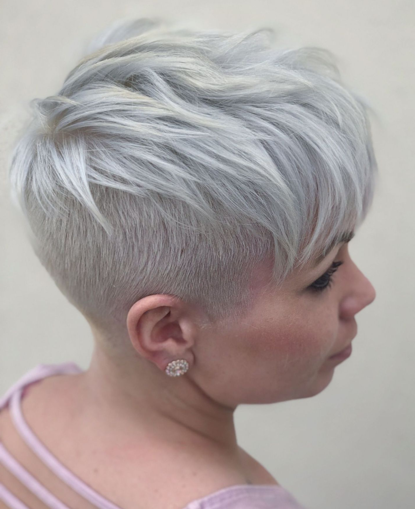 60 Cute Short Pixie Haircuts – Femininity And Practicality Within Popular Holograph Hawk Hairstyles (View 1 of 20)