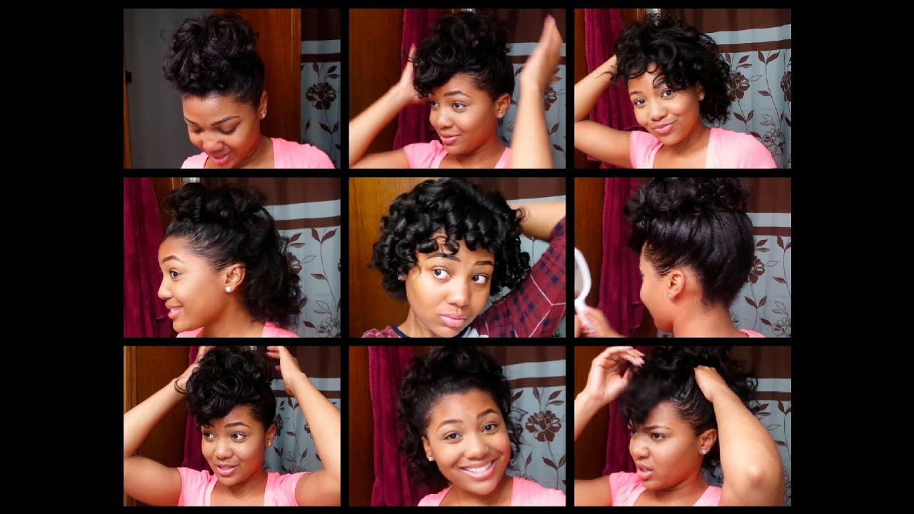 7 Easy Hairstyles For Relaxed Hair (View 6 of 20)