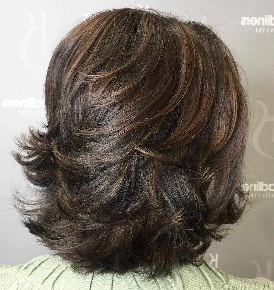 70 Brightest Medium Layered Haircuts To Light You Up (View 3 of 20)