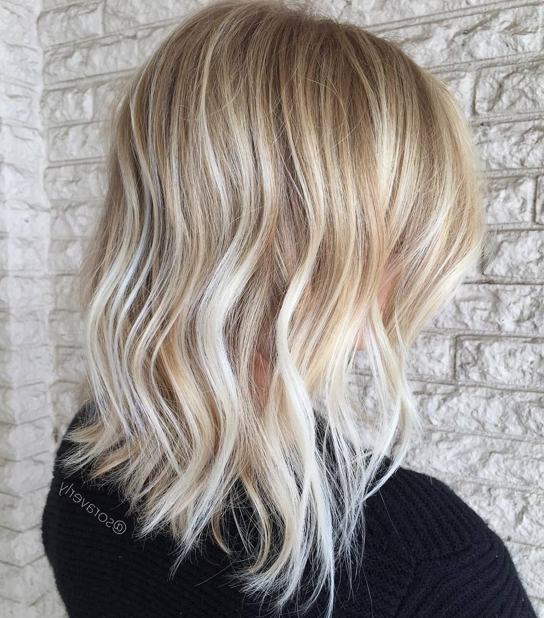 Featured Photo of Medium Haircuts For Blondes With Thin Hair
