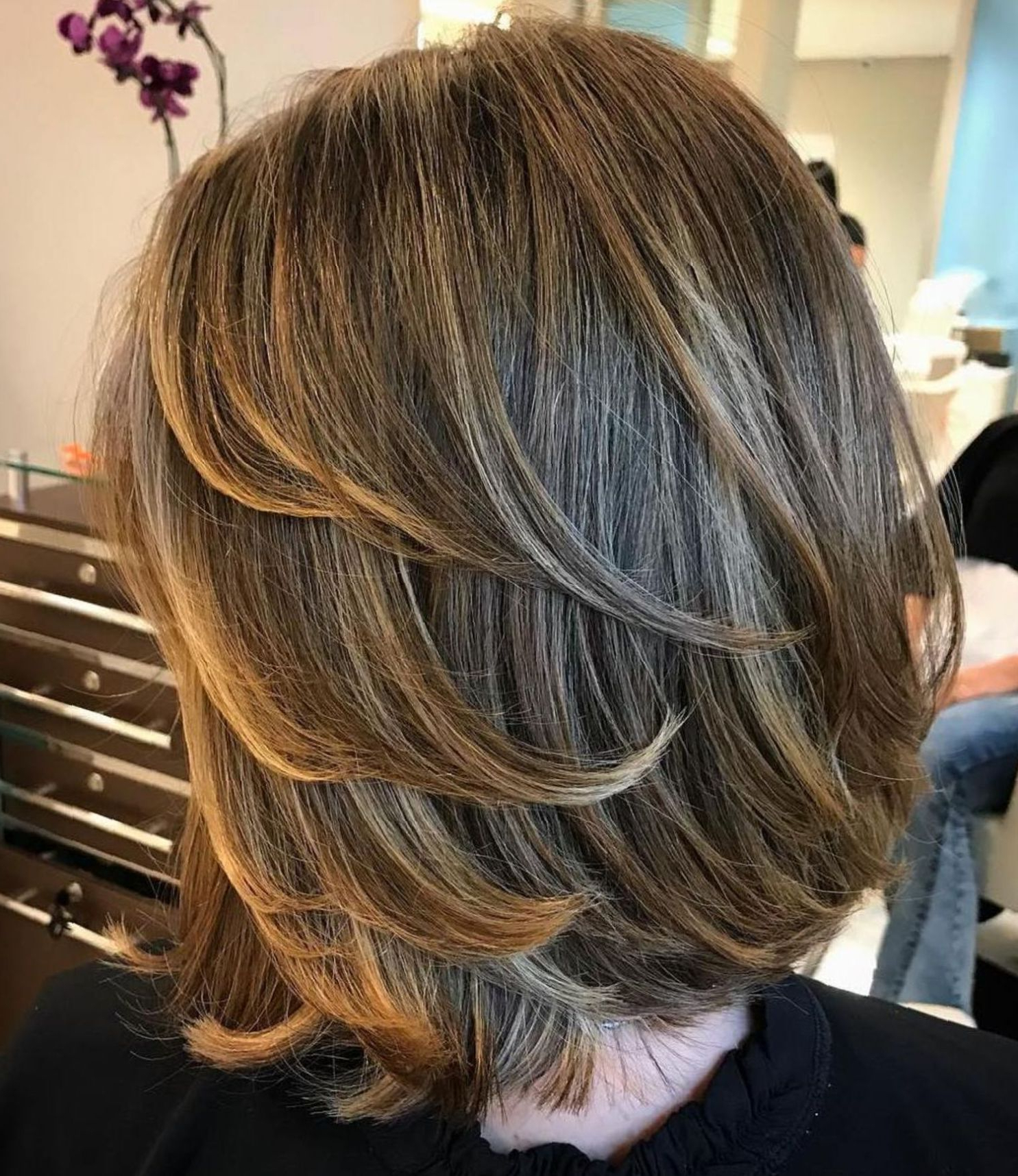 80 Sensational Medium Length Haircuts For Thick Hair (Gallery 4 of 20)