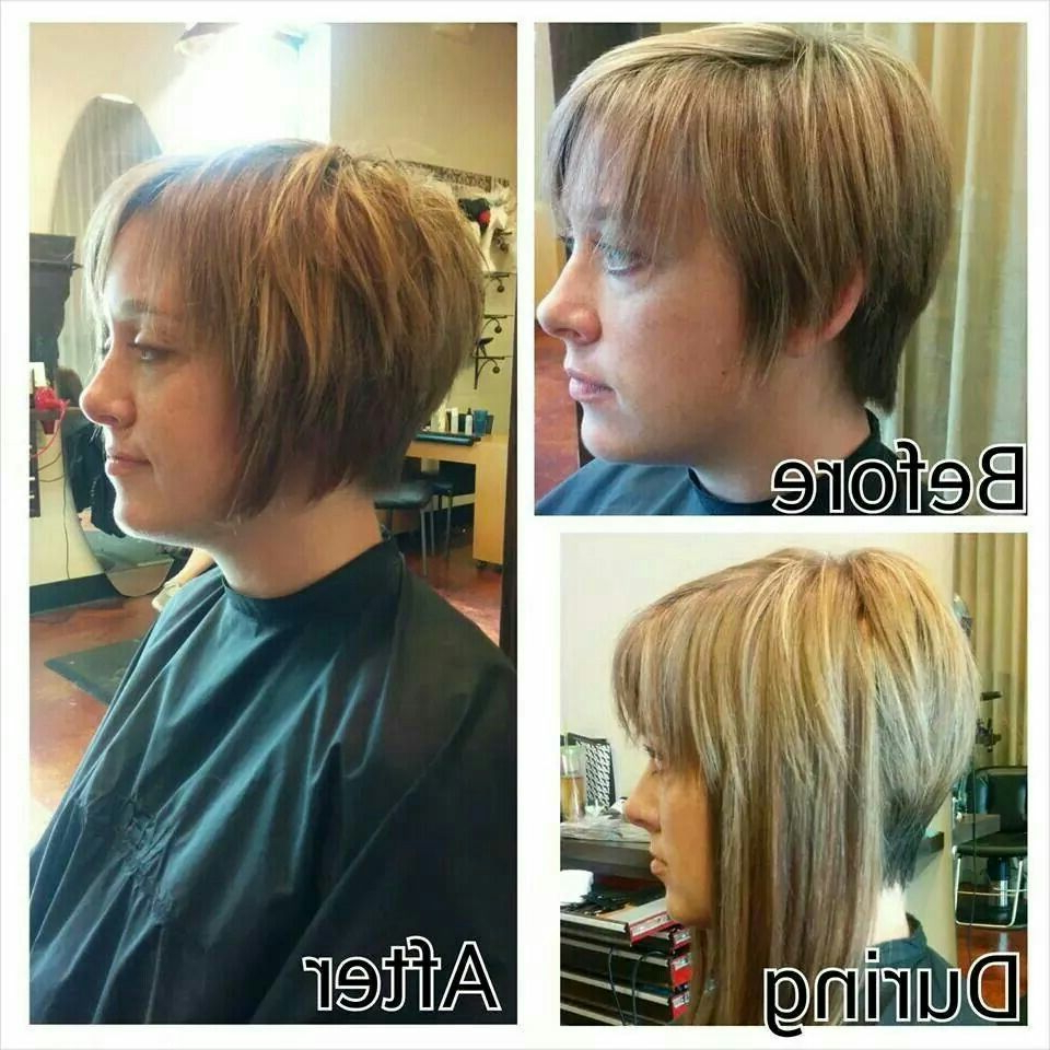 Added Extensions To Help Grow Out Pixie Cut (Gallery 4 of 20)