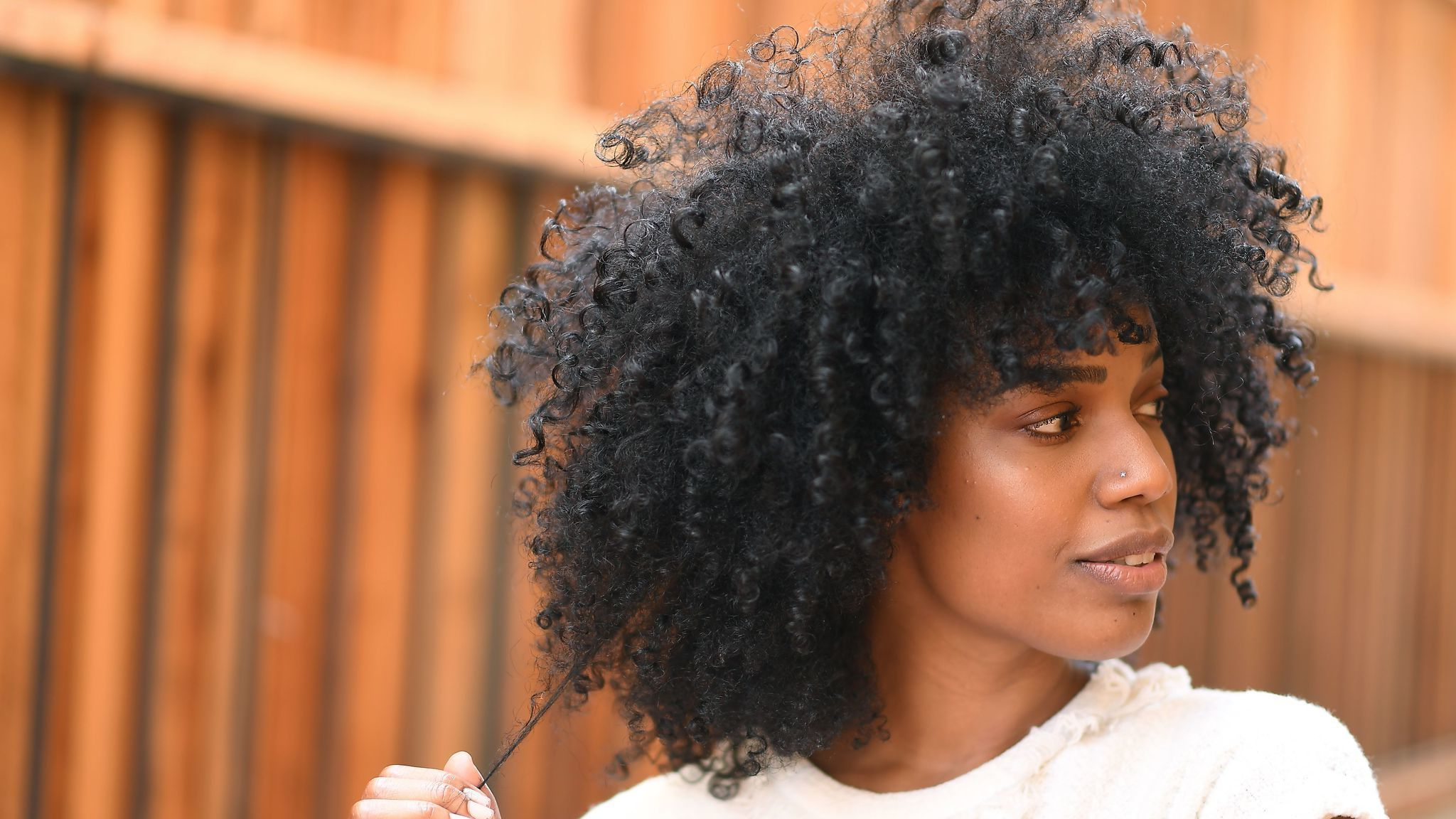 African American Natural Hairstyles For Medium Length Hair Pertaining To Preferred Medium Haircuts For Kinky Hair (Gallery 1 of 20)