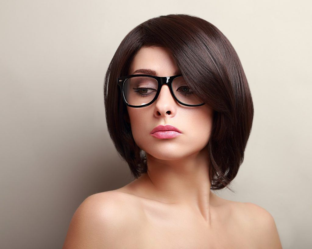 All Within Popular Medium Haircuts For Women With Glasses (Gallery 10 of 20)