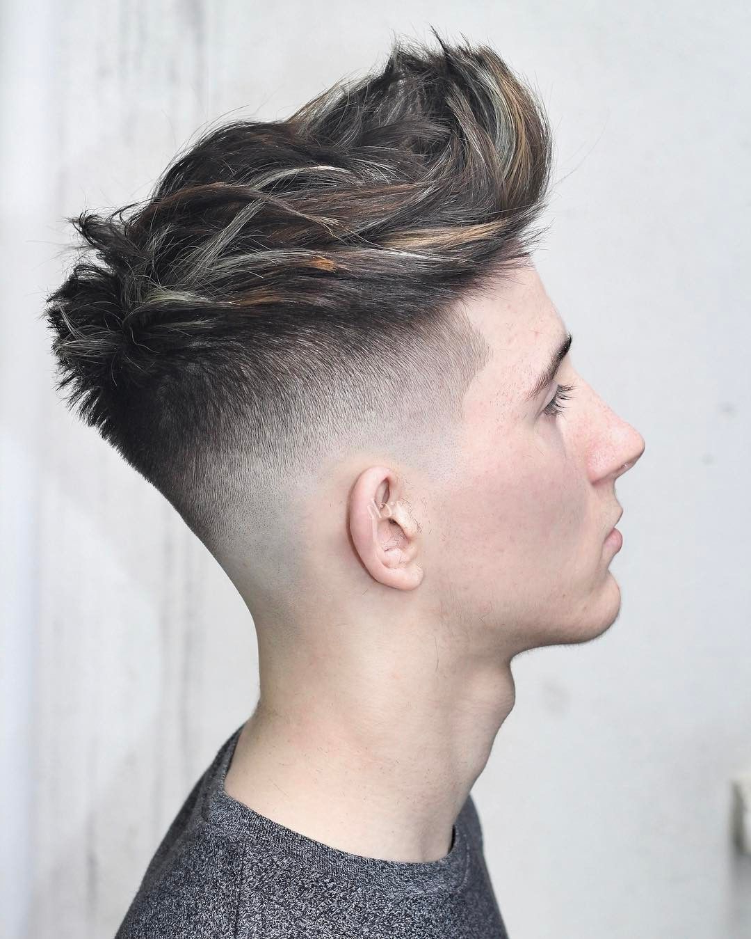 Awesome 80 Elegant Hairstyles For Thick Hair – Trendy Highlights Throughout Most Recently Released Stunning Silver Mohawk Hairstyles (View 4 of 20)